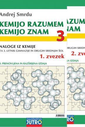 Jutro - 3027 - EAN 9789617024104 - KEMIJO RAZUMEM-KEMIJO ZNAM 3 - 2 izdaja 2020 - slika
